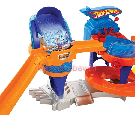 Myjnia z Bąbelkami HOT WHEELS V0627