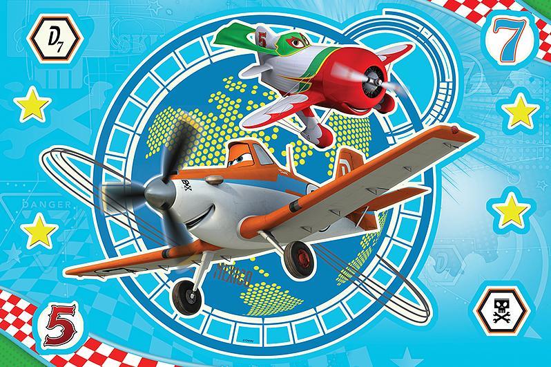 Puzzle 15el. Magic Decor Samoloty Trefl 14603