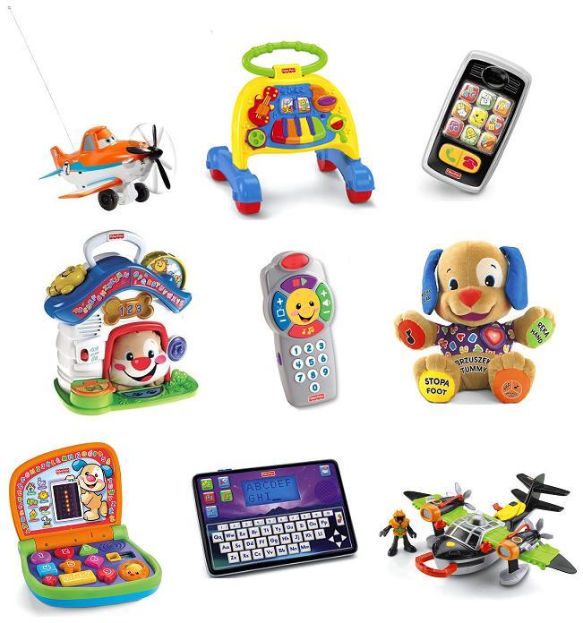 Sprawdź naszą ofertę na zabawki Fisher Price