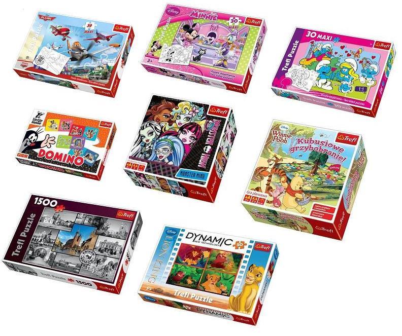 Sprawdź naszą ofertę na gry i puzzle Trefl