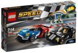LEGO Speed Champions Ford GT i Ford GT40 75881