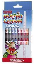 Pisaki Bipunta Duetto Clown Fibracolor