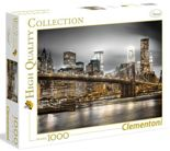 Puzzle 1000 New York Skyline 39366 Clementoni