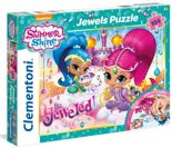 Puzzle 104 Jewels Shimmer and Shine Clementoni