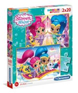 Puzzle 2x20 Shimmer and Shine Clementoni