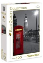Puzzle 500 London Phone Box 30263 Clementoni