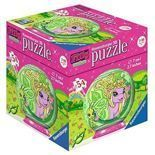 Puzzle kuliste 54 Filly Motylek zielony 118731