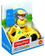 Taksówka Little People Fisher Price CDY06
