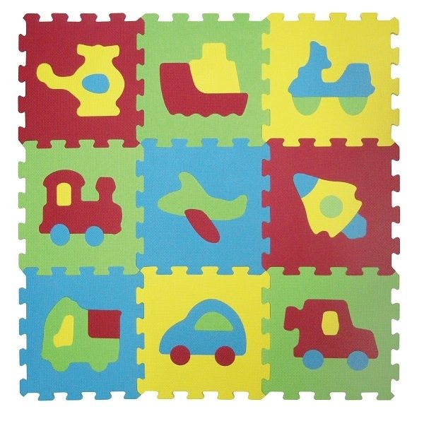 puzzle piankowe dla niemowlaka