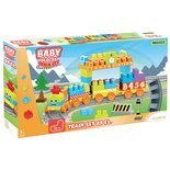 Baby Blocks Railway kolejka 3.35 m WADER 41480