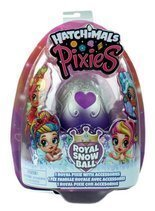 Hatchimals Pixies laleczka Royal Snow Ball fiolet