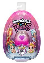 Hatchimals Pixies laleczka Royal Snow Ball różowa
