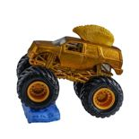 Hot Wheels Monster Jam Mohawk Warrior Gold Mattel