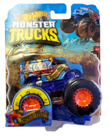 Hot Wheels Monster Trucks Abyss Mal GBT51 Matte