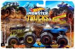 Hot Wheels Monster Trucks pojazdy 2 pak Mattel