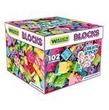 Klocki Blocks Create Play 102 el. WADER 41293