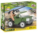 Klocki Small Army Border Patrol Vehicle 2166 Cobi