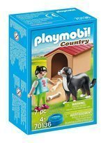 Playmobil Country Pies z budą 70136