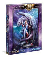 Puzzle 1000 A Stokes Dragon Mage 39525 Clementoni