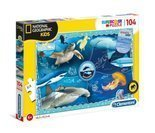 Puzzle 104 National Geographic Ocean Clementoni