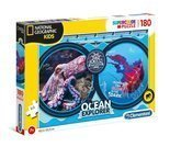 Puzzle 180 National Geographic Ocean Clementoni