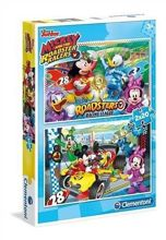 Puzzle 2x20 Mickey and the Roadster Clementoni