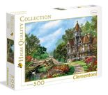 Puzzle 500 HQ Old Waterway Cottage Clementoni