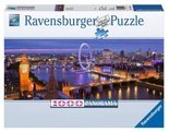 Puzzle Londyn nocą Panorama 1000 Ravensburger