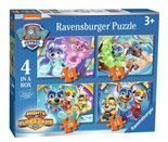 Puzzle Psi Patrol Mighty Pups 4w1 Ravensburger