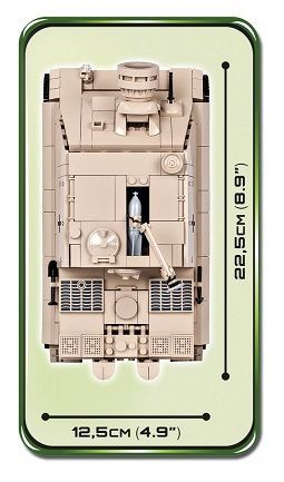 COBI 2513 38CM STURMMORSER Baukästen & Konstruktion
