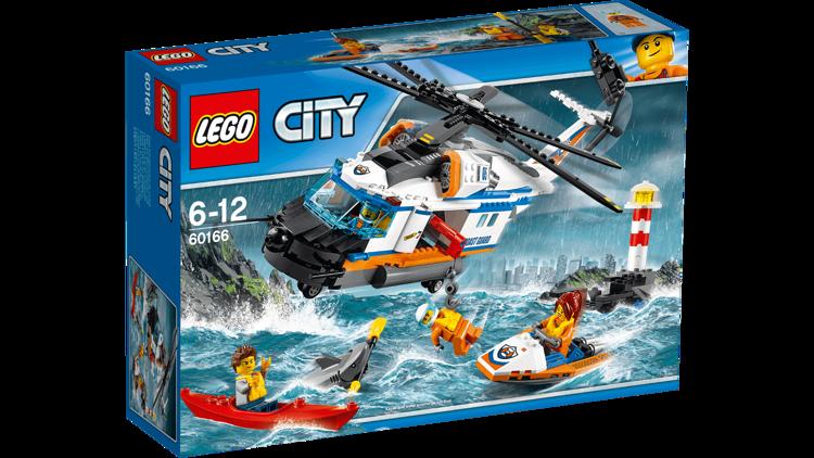 Klocki Lego City 60166 Helikopter Ratunkowy Mazak Marek Zaremba