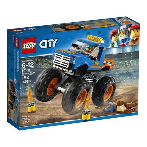 Klocki Lego City 60180 Monster Truck Mazak Marek Zaremba