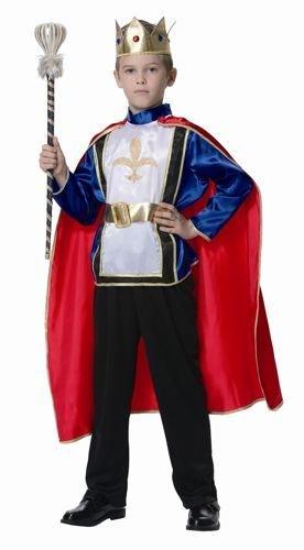 Strój karnawałowy kostium przebranie Król 116 cm - Mazak Marek Zaremba