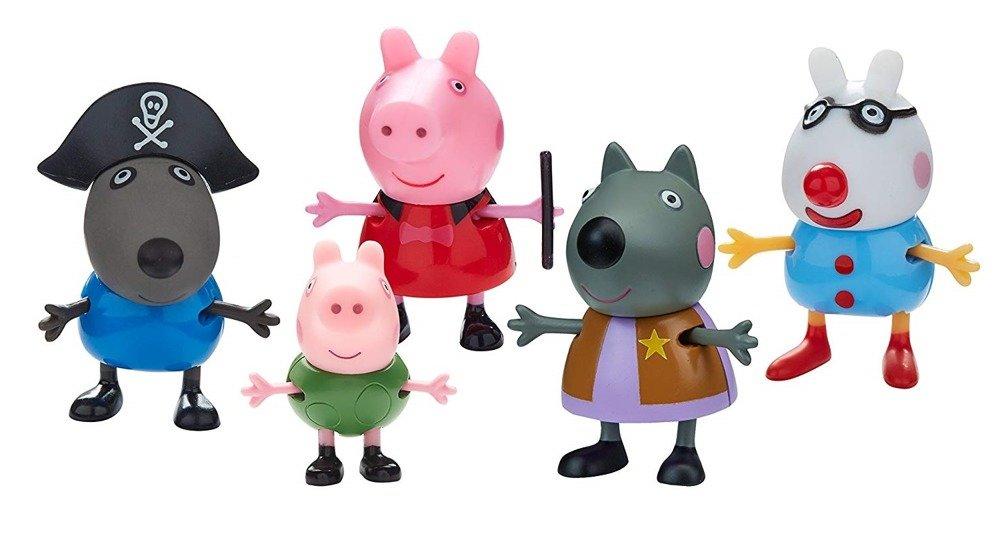 Zabawki z serii Świnka Peppe