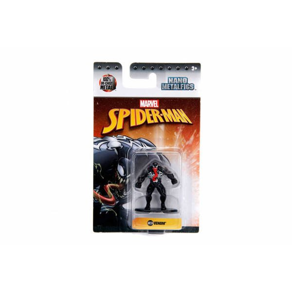 Jada figurka metalowa Venom Spiderman Marvel 4cm