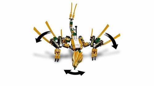 Lego Ninjago 70666 Złoty Smok Mazak Marek Zaremba