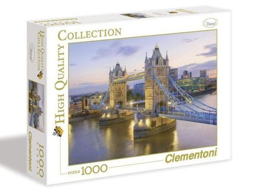 Puzzle 1000 HQ Tower Bridge Clementoni