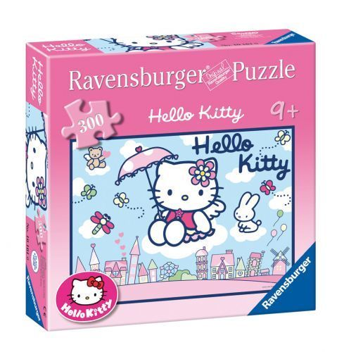 Puzzle 300 el. Świat Kitty Ravensburger